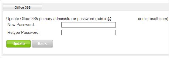 office 365 admin portal